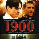 1900 - robert de niro + gerard depardieu DVD 2009 paramount used mint