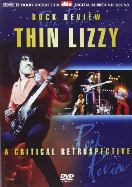 thin lizzy - rock review DVD 2004 angry penguin used mint
