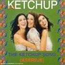las ketchup - ketchup song (asereje) CD single 4 tracks 2002 shaketown sony spain made in austria