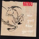 natraj - the goat also gallops CD 1990 galloping goat 8 tracks used mint