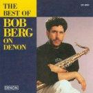 bob berg - best of bob berg on denon CD 1995 denon BMG Direct 10 tracks used mint
