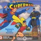 adventures of superman CD 2003 DC comics radio spirits used mint
