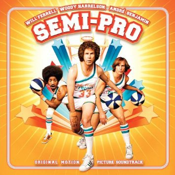 semi-pro - original motion picture soundtrack CD 2008 new line records 14 tracks used mint