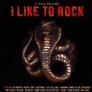 i like to rock - various artists CD 1997 disky 16 tracks used mint