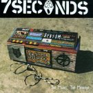7 seconds - the music the message CD 1995 sony 16 tracks used mint