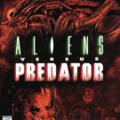 aliens versus predator PC video game 1986 fox interactive M used mint