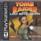 tomb raider the last revelation - playstation 1999 eidos used mint