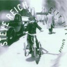 steve reich - proverb nagoya marimbas city life CD 1996 nonesuch 7 tracks used mint