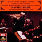 bellini haydn hummel mozart classic trumpet concertos - maurice andre CD 1991 EMI used mint