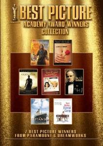 Best Picture Collection - American Beauty Braveheart Godfather Titanic Terms of Endearment + DVD