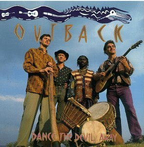 outback - dance the devil away CD 1991 rykodisc hannibal 8 tracks used mint