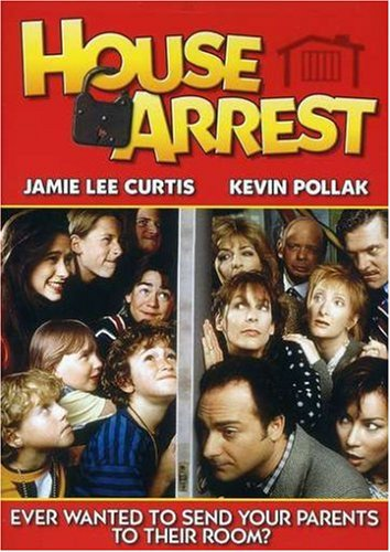 house arrest - jamie curtis + kevin pollak DVD 1996 2007 paramount used mint