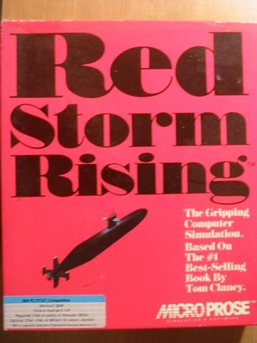 red storm rising - Atari ST 1989 MicroProse used