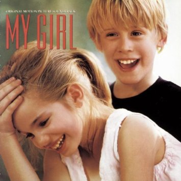 my girl - original motion picture soundtrack CD 1991 sony 12 tracks used mint