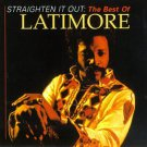 straighten it out - best of latimore CD 1995 rhino 17 tracks used mint