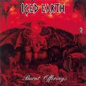 iced earth - burnt offerings CD 1995 century media 8 tracks used mint