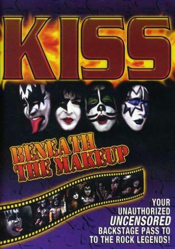 kiss - beneath the makeup DVD 2002 passport used mint