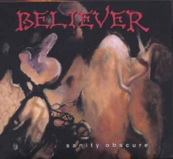 believer - sanity obscure CD limited edition #0158 of 2000 metal mind 2007 8 tracks used mint