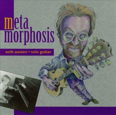 seth austen - metamorphosis CD 1993 turquoise 20 tracks used mint