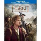 hobbit an unexpected journey blu-ray DVD untraviolet combo pack 3-disc set warner used mint
