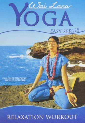 wai lana yoga easy series DVD 3-disc set 2003 new factory-sealed