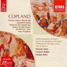 aaron copland - mata + slatkin + batiz 2CDs 1986 EMI 35 tracks used mint