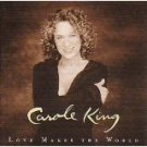 carole king - love makes the world CD 2001 koch 12 tracks used mint