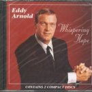 eddy arnold - whispering hope CD 2-discs 1995 RCA 24 tracks used mint
