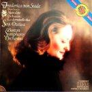 frederica von stade - Berlioz: Nuits d'ete + Debussy: La damoiselle elue - ozawa & BSO CD 1984 CBS