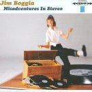 jim boggia - misadventures in stereo CD 2008 bluhammock 10 tracks used mint