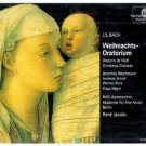 j.s. bach - weihnachts-oratorium - rene jacobs et al 2CDs 1997 harmonia mundi germany used mint