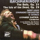 rachmaninoff - the bells op. 35 + isle of the dead op. 29 - SLSO + slatkin CD 1982 moss music