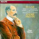 elgar - enigma variations + pomp & circumstance - RPO w/ previn CD 1987 philips used mint