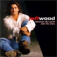 jeff wood - between the earth and the stars CD 1997 imprint 10 tracks used mint