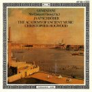 geminiani six concerti grossi op.3 - jaap schroder + academy of ancient music + hogwood CD 1986