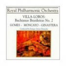 villa-lobos - bachianas brasileiras no.2 - gomes / moncayo / ginastera CD 1999 used