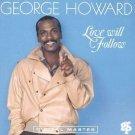 george howard - love will follow CD 1991 GRP 7 tracks used mint