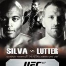 UFC 67 all or nothing - silva vs lutter DVD 2007 zuffa used mint