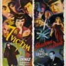 7th victim & shadows in the dark - val lewton legacy DVD 2005 turner used mint