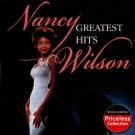 nancy wilson - greatest hits CD 1986 emi 2003 collectables 9 tracks used mint