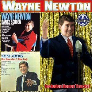 wayne newton - danke schoen + red roses for a blue lady CD 2003 collectables 26 tracks used mint