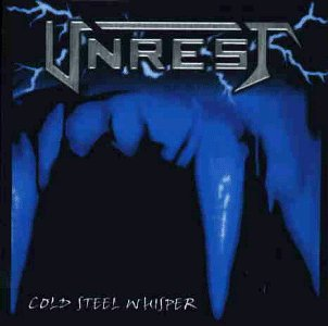 unrest - cold steel whisper CD 1998 point music germany used mint