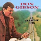 don gibson - 18 greatest hits CD 1990 curb hickory 18 tracks used mint