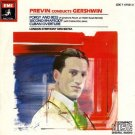 previn conducts gershwin - porgy and bess / second rhapsody / cuban overture CD 1981 EMI used mint