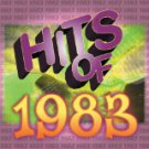 hits of 1983 - various artists CD 1999 sony 10 tracks used mint