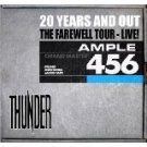 Thunder - 20 Years And Out The Farewell Tour Live 2 audio CDs + Photo CD 2009 STC recordings mint