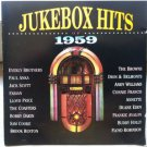 jukebox hits of 1959 - various artists CD 1991 double d 29 tracks used mint