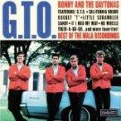 ronny and the daytonas - G.T.O. best of mala recordings CD 1997 sundazed 20 tracks