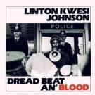 linton kwesi johnson - dread beat an' blood CD 1978 virgin 1989 heartbeat 8 tracks used near mint