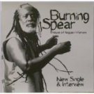 burning spear - house of reggae / interview CD 2000 heartbeat used mint